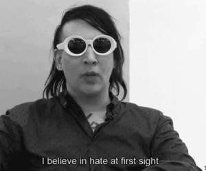 hate, Marilyn Manson, and quotes image