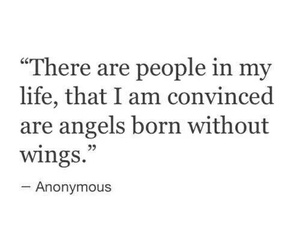 quotes, angel, and life image