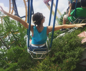 six flags and flying chairs image