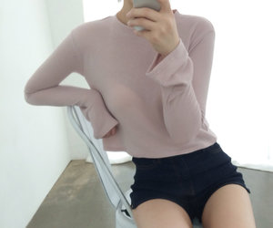 girl, aesthetic, and body image
