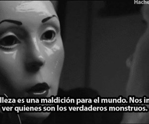 beauty, frases, and monster image