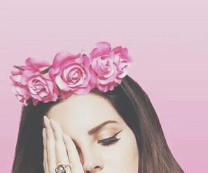 lana del rey, pink, and wallpaper image