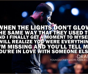 boy, Drake, and quote image