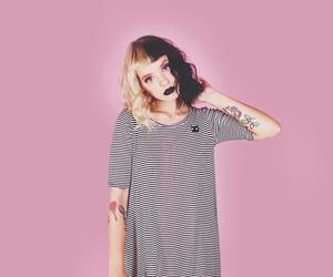 melanie martinez, pink, and cry baby image