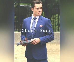 chuck bass, ed westwick, and handsome image