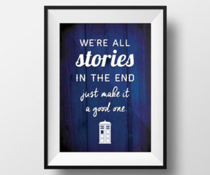 blue, decor, and doctor who image