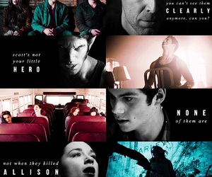 teen wolf, lydia martin, and chris argent image