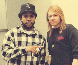 axl rose and ice cube image