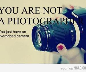 camera, funny, and photographer image