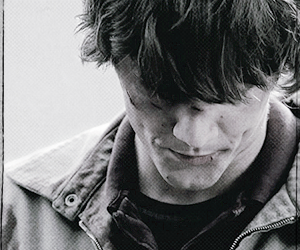 sam winchester, supernatural, and black and white image
