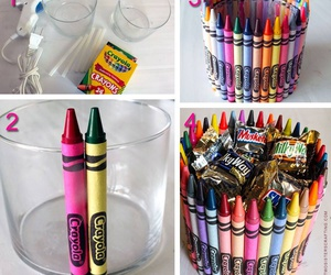 color, dulces, and diy image