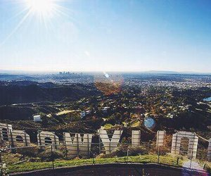 california and hollywood image