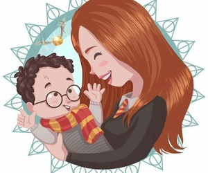 cool, dibujos, and harry potter image