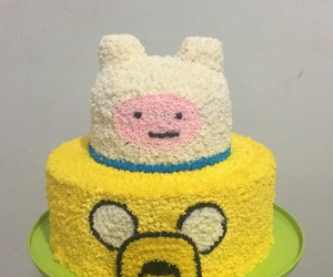 cake and adventure time cake image