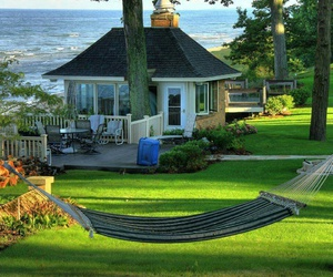 house, home, and hammock image