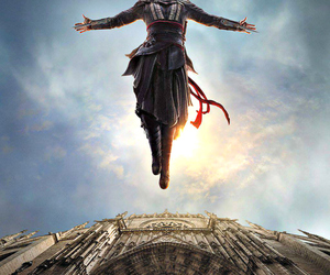 leap of faith, movie, and assassin's creed image