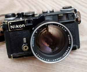 camera, nikon, and photography image