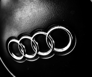 audi, black, and cool image