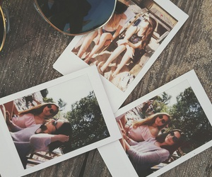 friends, friendship, and polaroid image