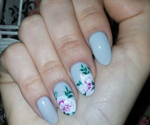 flowers, grey, and summer image