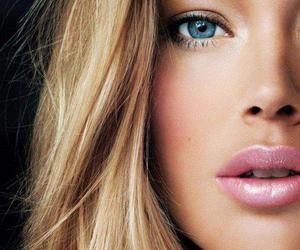 blonde, lips, and Doutzen Kroes image