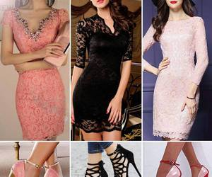 fashion, party dress, and sexy dress image
