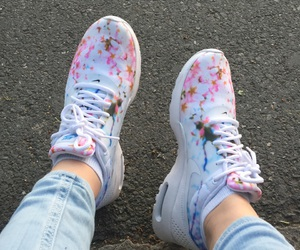 cherryblossom, shoes, and airmax image