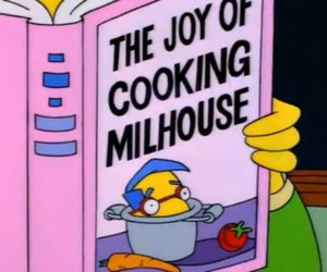 simpsons, the simpsons, and milhouse image