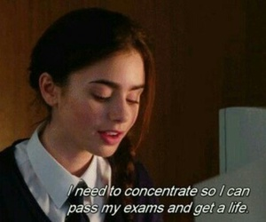 exam, life, and quotes image