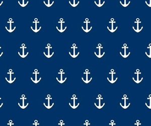 anchor, wallpaper, and blue image