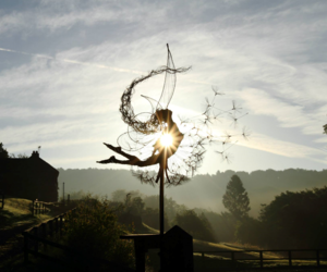 fairy, art, and dandelion image