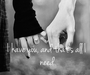 all i need, her, and him image