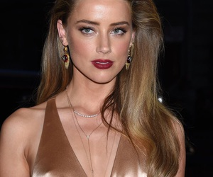 actor, amber heard, and fashion image
