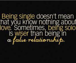 single, quote, and wise image