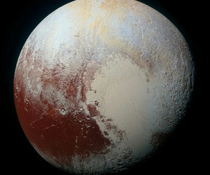 pluto, space, and galaxy image