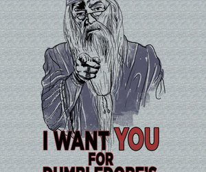 army, dumbledore, and harry potter image