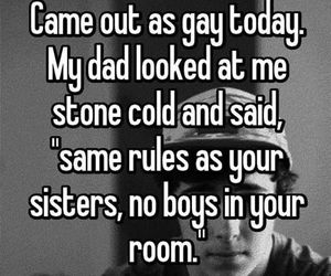 boys, dad, and room image