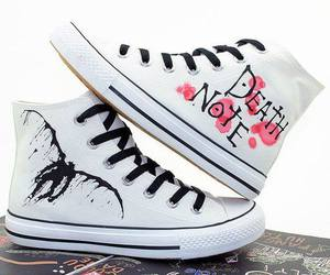death note, ryuk, and shoes image