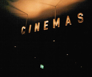 cinema, dark, and vintage image