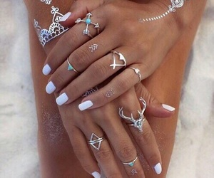 jewellery, rings, and Tattoos image