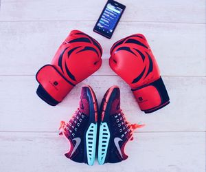 boxe, boxing, and fitness image