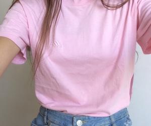 pink, tumblr, and grunge image