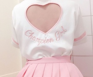 pink, pastel, and heart image