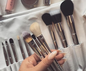 makeup, Brushes, and luxury image