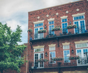 architecture, brick building, and home decor image