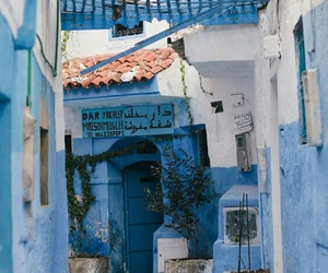 blue, travel, and morocco image