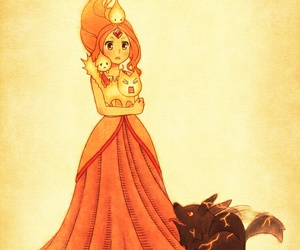 adventure time and flame princess image