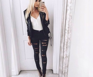 fashion, outfits, and white image