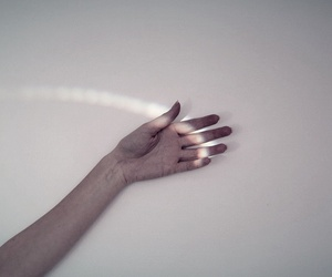 hand and light image