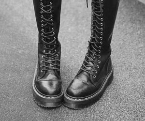 shoes, black, and grunge image